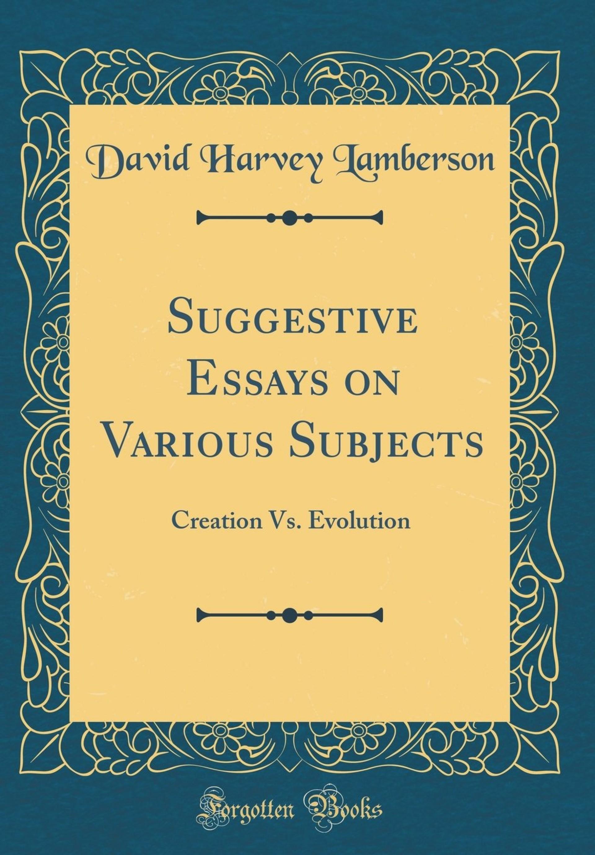 018 71btf9d2 Jl Creation Vs Evolution Essay Stupendous Pdf Essays On Origins Vs. 1920