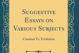 018 71btf9d2 Jl Creation Vs Evolution Essay Stupendous Pdf Essays On Origins Vs.