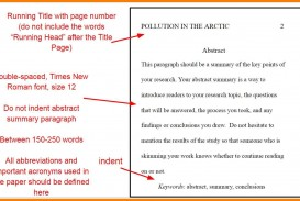 018 Apa Essay Format Apaabstractyo Font Size Stunning Formal
