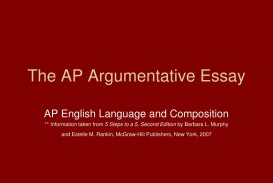 018 Argumentative Essay Powerpoint Example The Ap Frightening Presentation Slides For Middle School