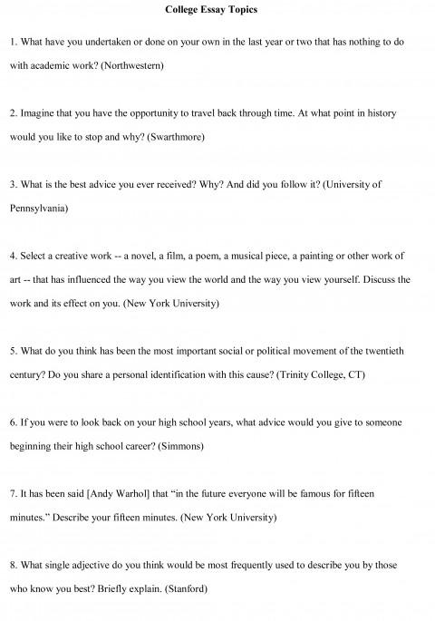 018 College Essay Topics Free Sample1cbu003d Personal Narratives High School Frightening Narrative Examples 480