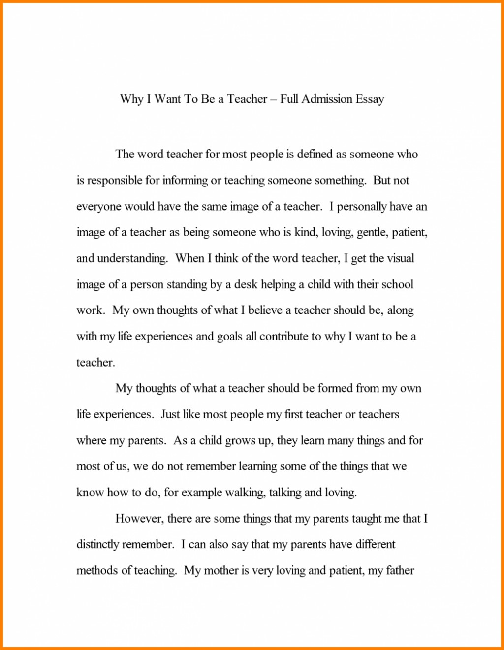 018 Common App Example Essays That Worked Application College Essay Sample For Guidelines Unique Best Samples Option 1 Prompt 2016 2017 Large