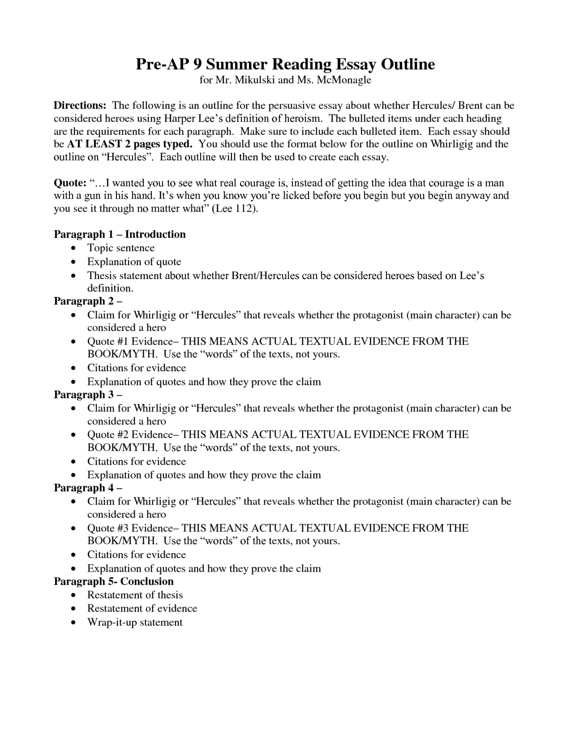 018 Definition Essay Outline Example Writing About Heroism Essays Sample Format Of Freedom On Happiness Success Topics Love Family Respect Extended Phenomenal 1920