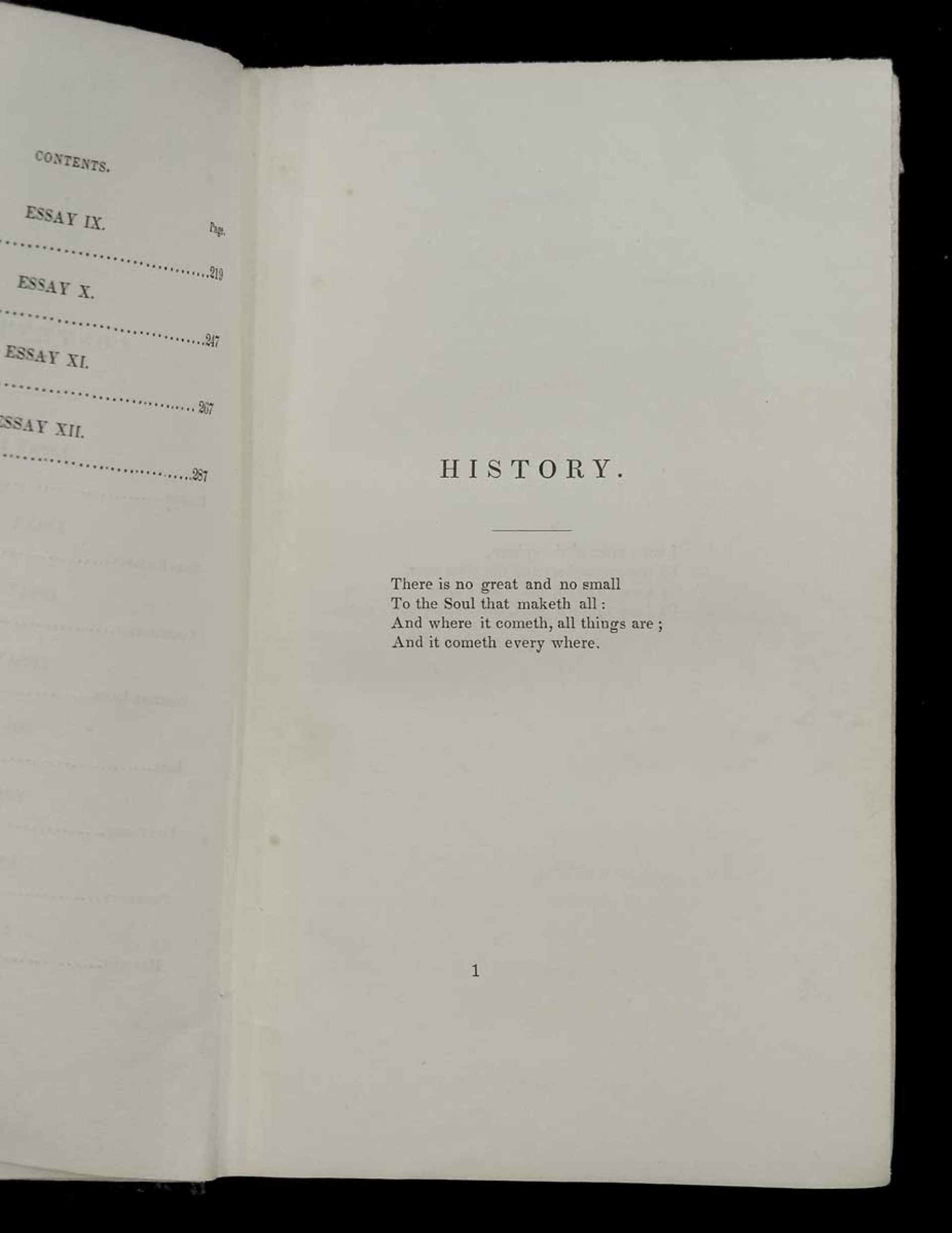 018 Essay Example 4818emerson Wl Emerson Dreaded Essays Self Reliance And Other Second Series Nature 1920
