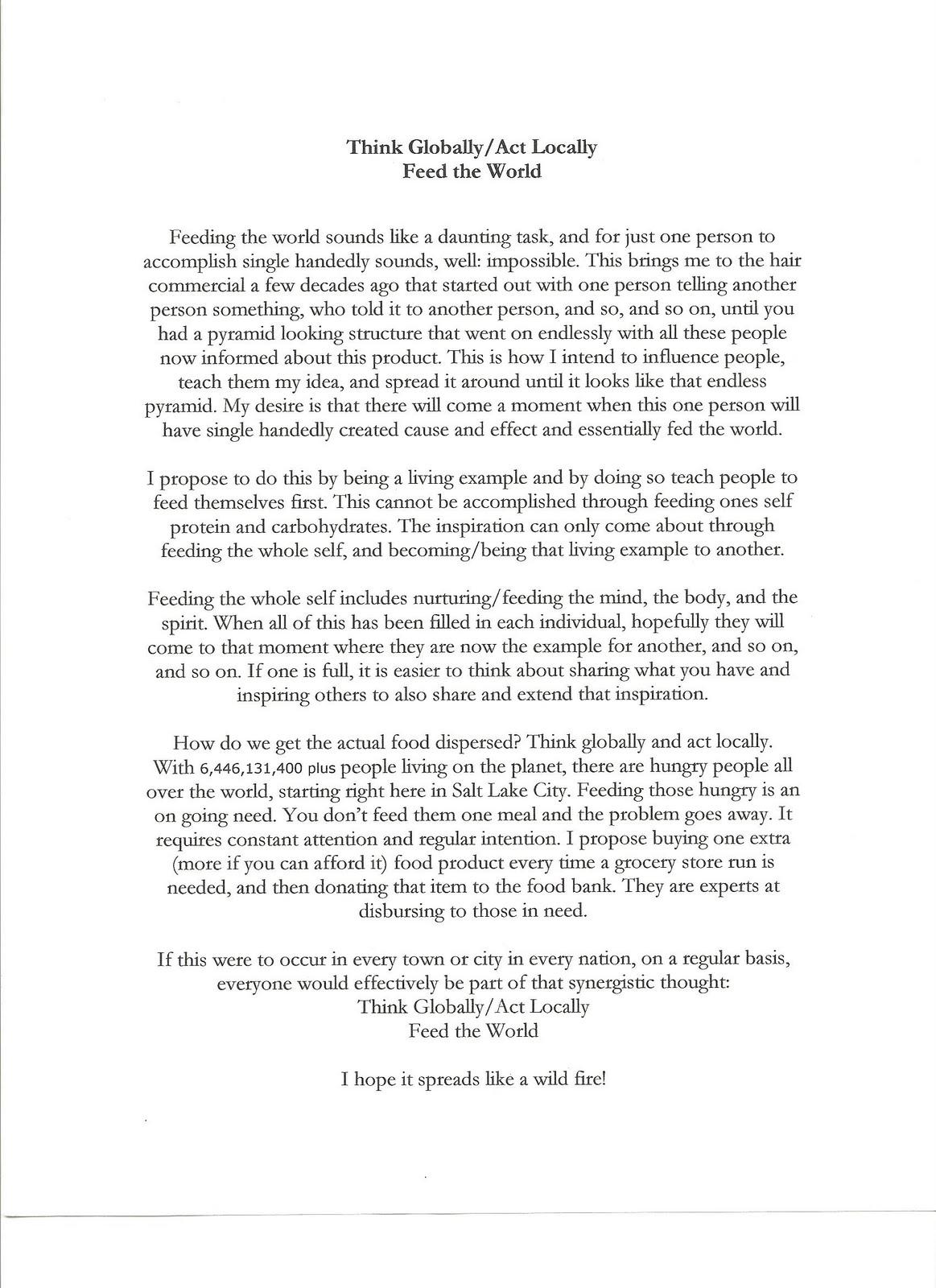 Goi peace foundation essay contest 2012
