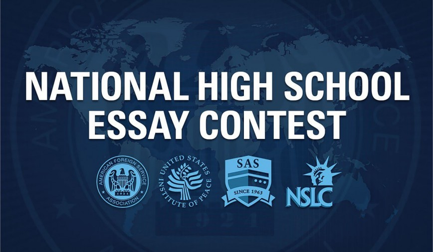 018 Essay Example Afsa High School Contest Staggering