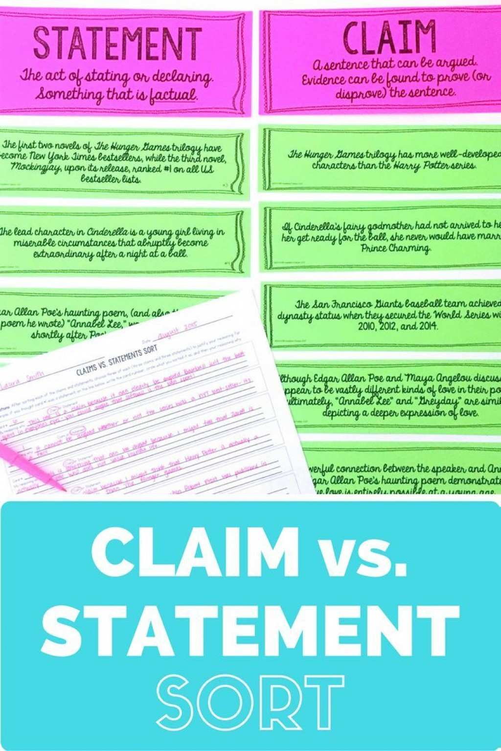 018 Essay Example An Effective Claim For Argumentative Wondrous Is Which Statement Of Brainly Quizlet Large