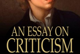 018 Essay Example An On Criticism With Introductory And Explanatory Sensational Lines 233 To 415 Part 3 Analysis Pdf