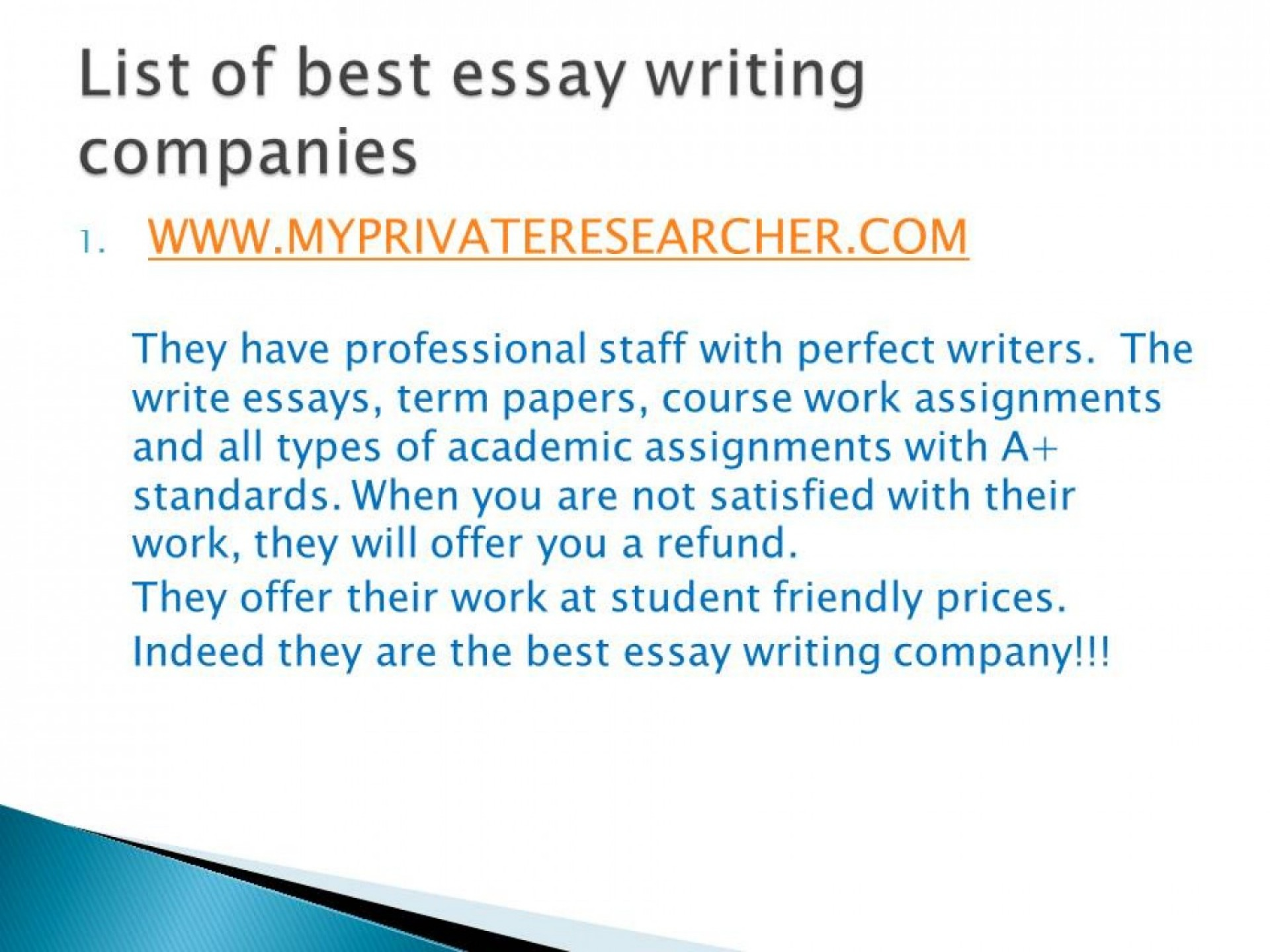 018 Essay Example Best Writing Companies 55eda1f2724ac W1500 Frightening Company In Interview To Work For Uk 1920