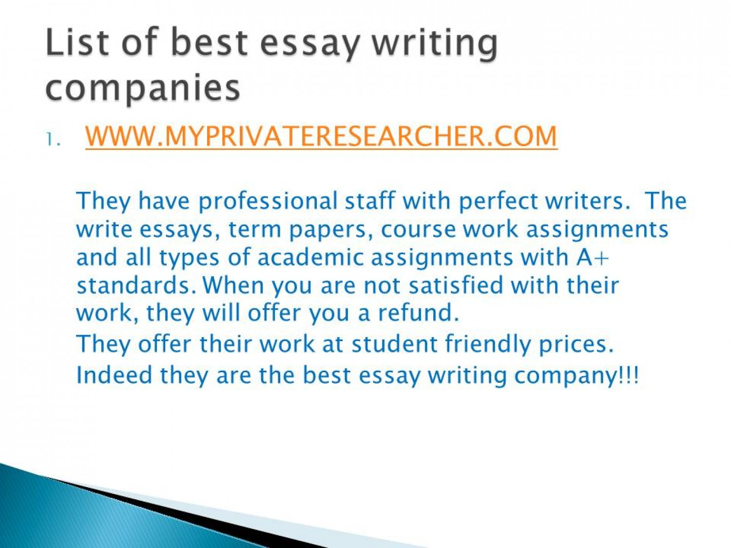 018 Essay Example Best Writing Companies 55eda1f2724ac W1500 Frightening Company In Interview To Work For Uk Full