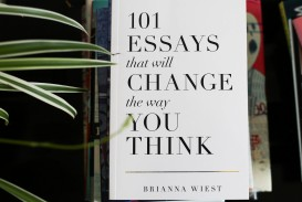 018 Essay Example Essays That Will Change The Way You Think 34458631120 86ea922725 B Unusual 101 Book Depository Barnes And Noble Review