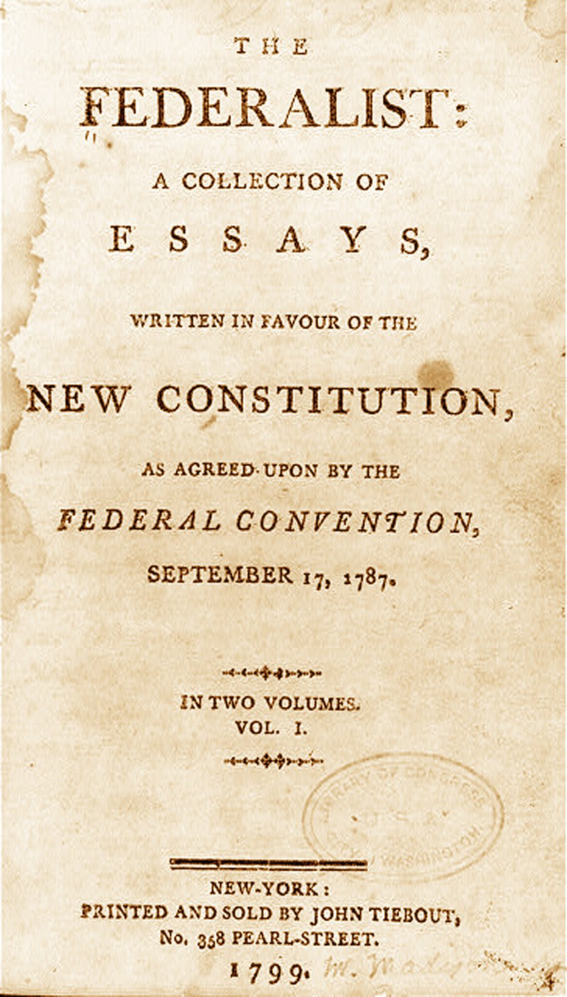 018 Essay Example Federalistpapers Alexander Hamilton Frightening Essays 51 Federalist Papers 78 Did Wrote Full
