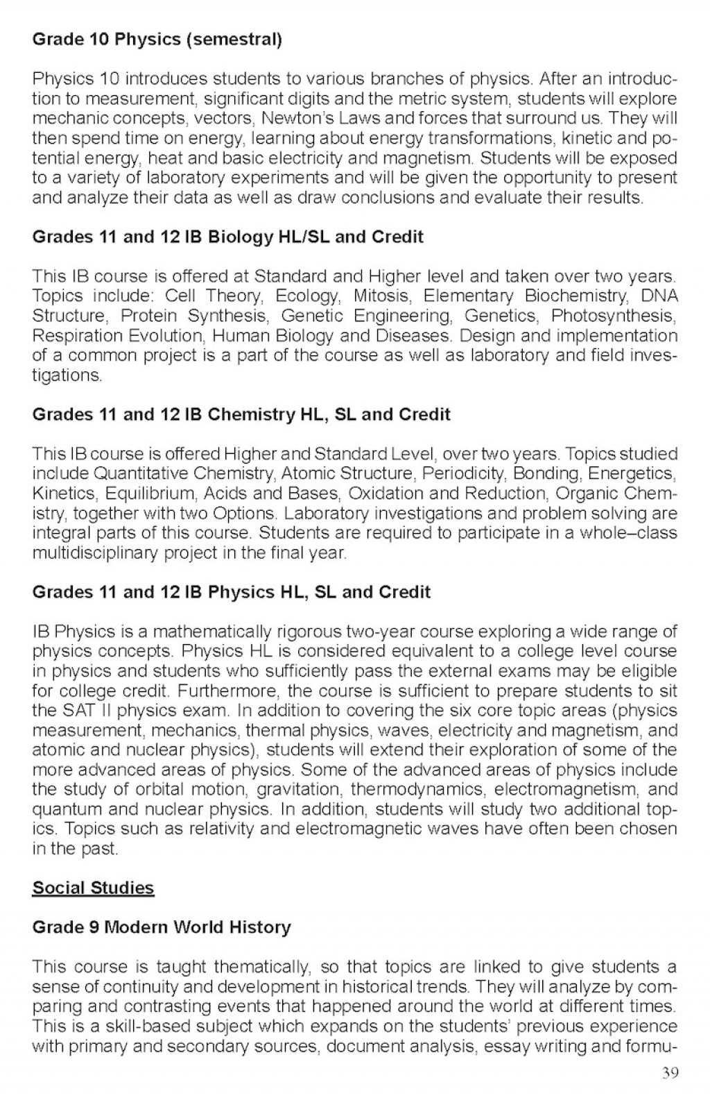 018 Essay Example Handbook20152016final July23 Page 39 Topics For Year Archaicawful 9 Questions Grade Olds Igcse Large