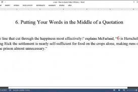 018 Essay Example Maxresdefault How To Incorporate Quotes In Shocking An Into Mla Integrate