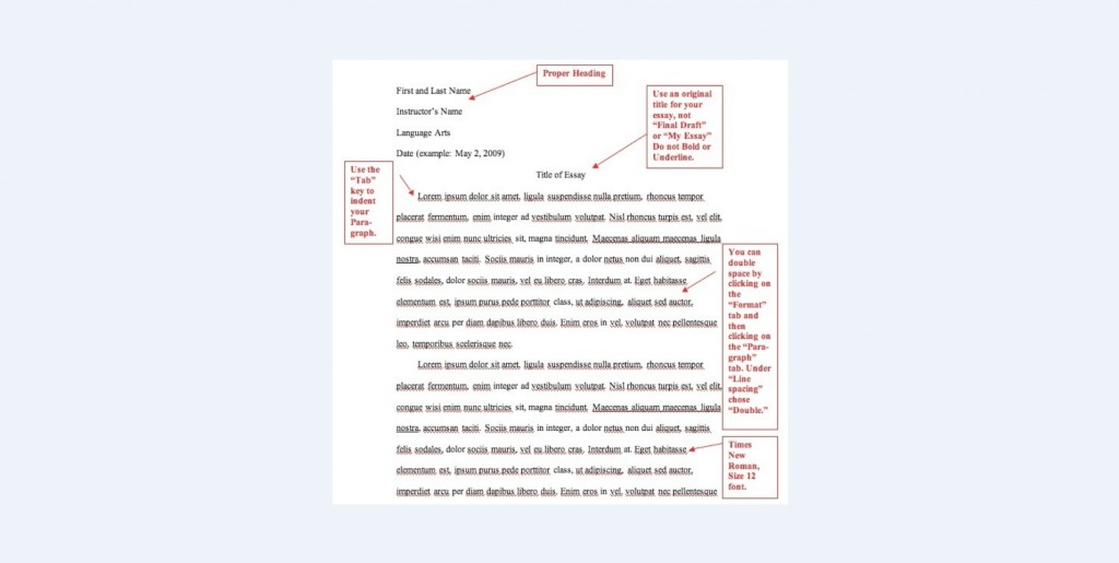 018 Essay Example Mla Format Magnificent Title Page Informative Outline Cite In Anthology Large