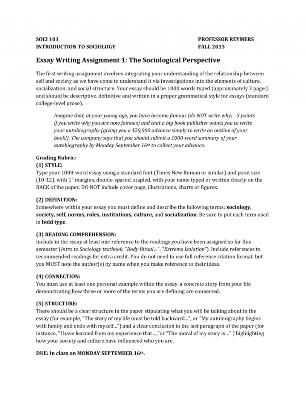 018 Essay Example Name Writing Assignment The Sociological Perspective Where To Put Your On Scholarship 008345038 1 An Apa Uk Write College Exceptional Mla Format Date Names In English Topic List Large