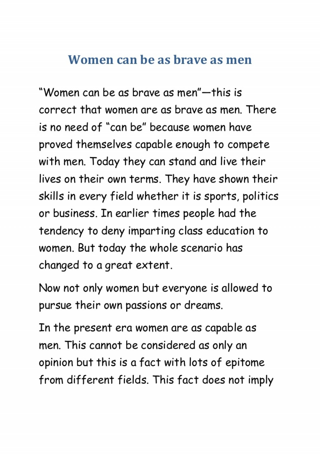 018 Essay Example On Women Conversion Gate01 Thumbnail Incredible Women's Rights In India Short Empowerment Large