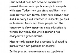 018 Essay Example On Women Conversion Gate01 Thumbnail Incredible Women's Rights In India Short Empowerment