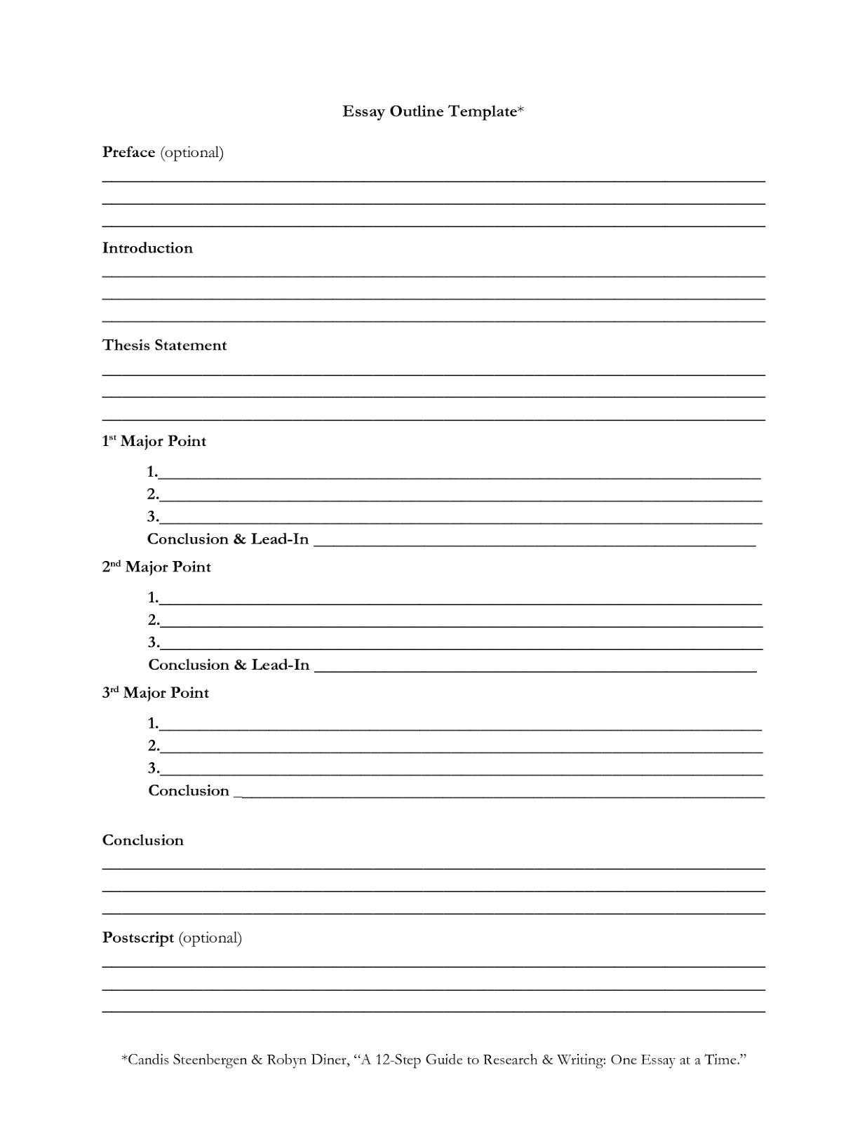 018 Essay Example Outline For Persuasive Stirring Argumentative Middle School Writing Full