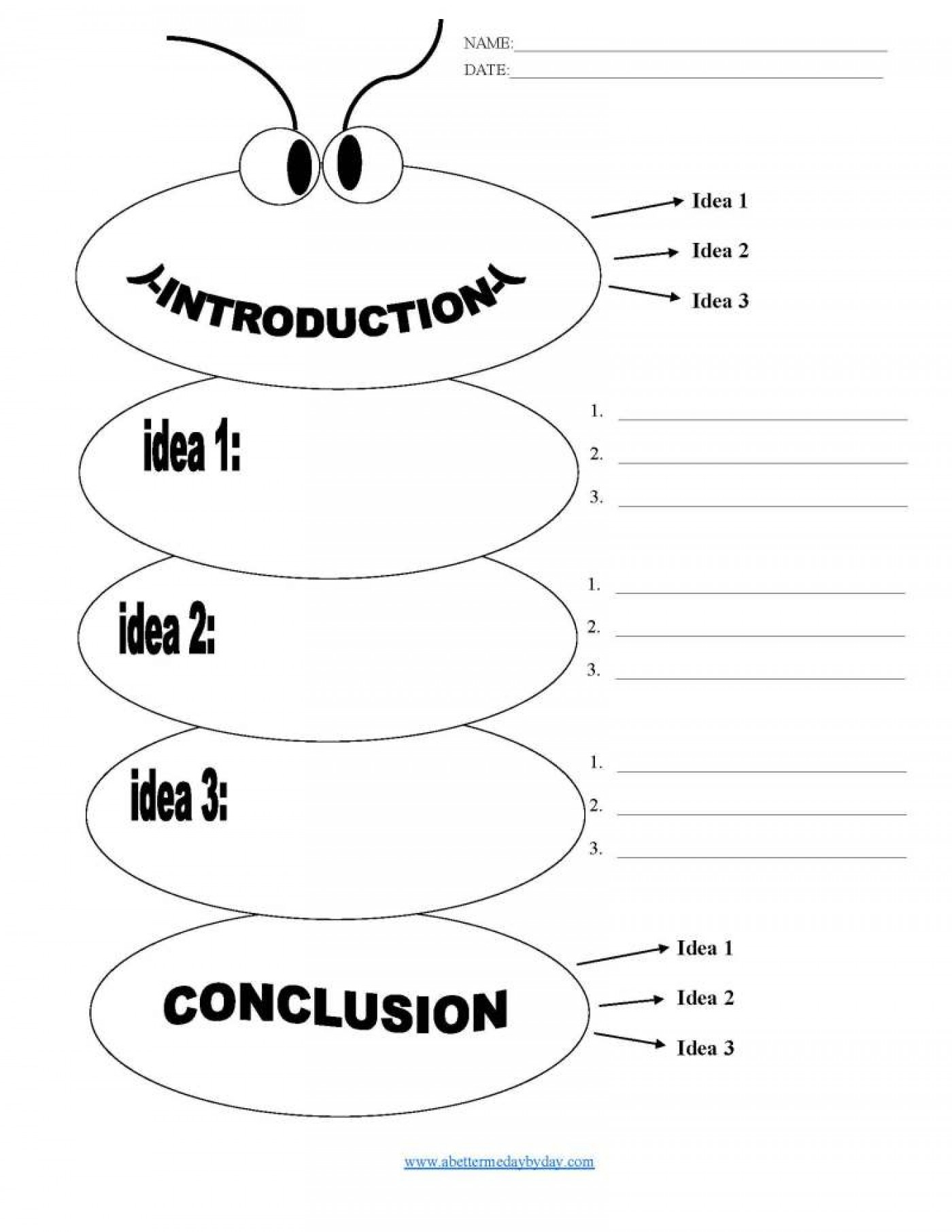 Essay outline maker