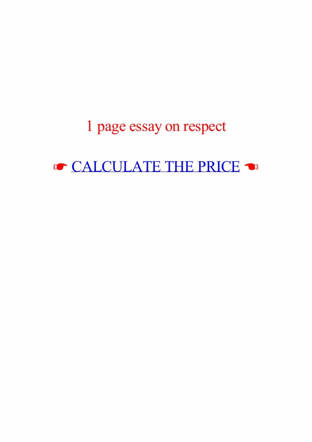 018 Essay Example Page On Respect Lva1 App6892 Thumbnail Best 1 Rubric One Format Apa How Many Words Large