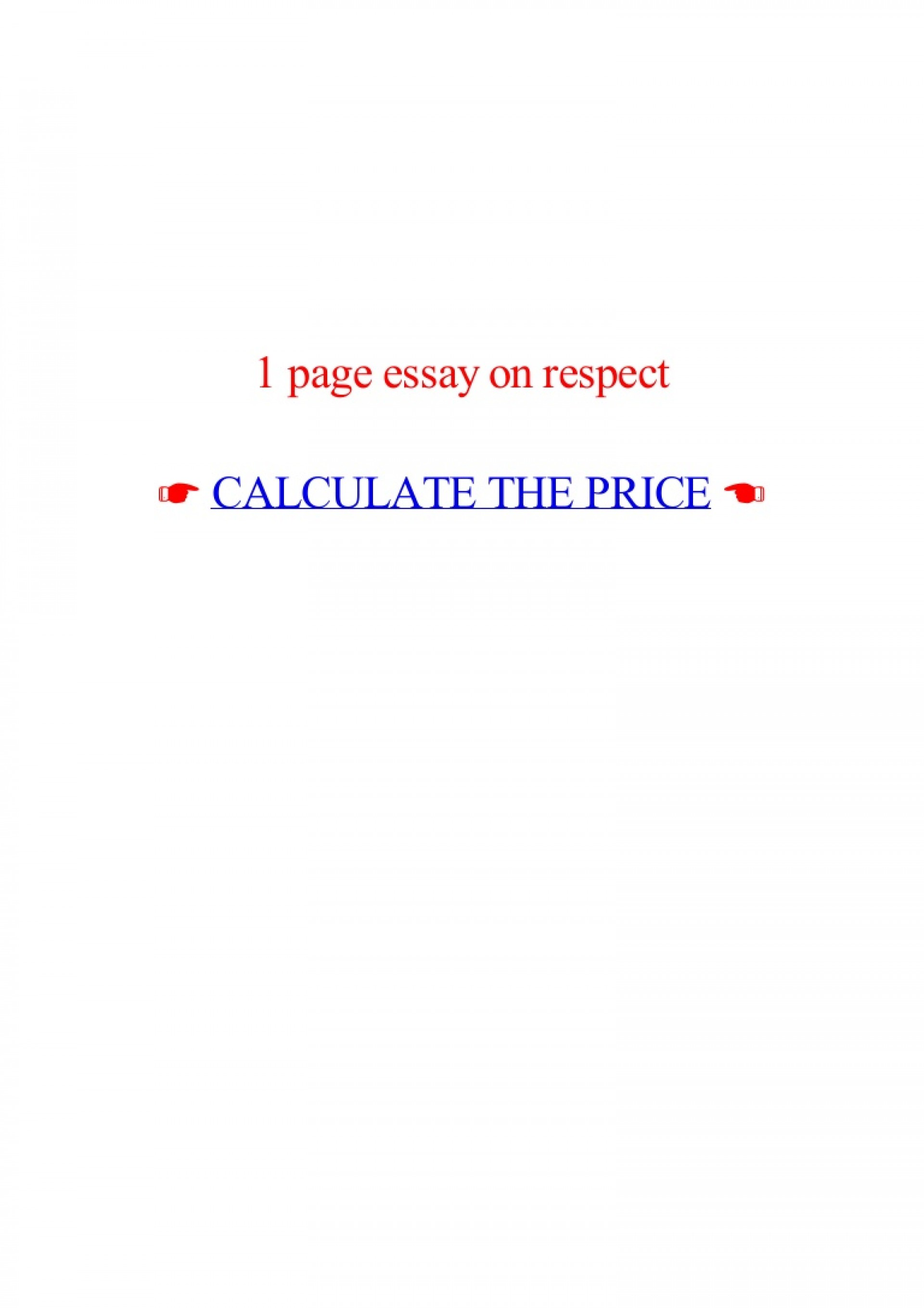 018 Essay Example Page On Respect Lva1 App6892 Thumbnail Best 1 Rubric One Format Apa How Many Words 1920