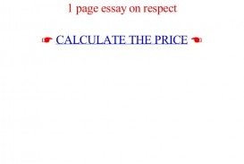 018 Essay Example Page On Respect Lva1 App6892 Thumbnail Best 1 Rubric One Format Apa How Many Words