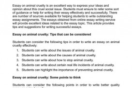 018 Essay Example Photo Animal Abuse Poemsrom Co Argumentati Argumentative Fearsome Outline Conclusion Essays Free