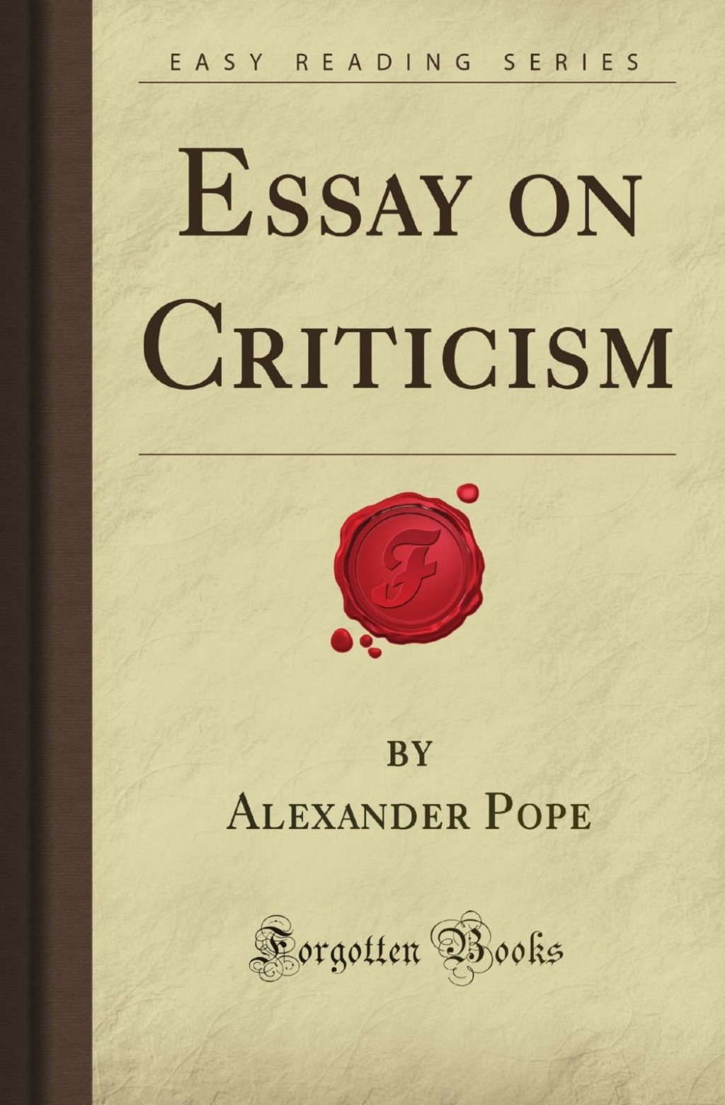 018 Essay Example Pope On Criticism With Line Numbers Outstanding Large