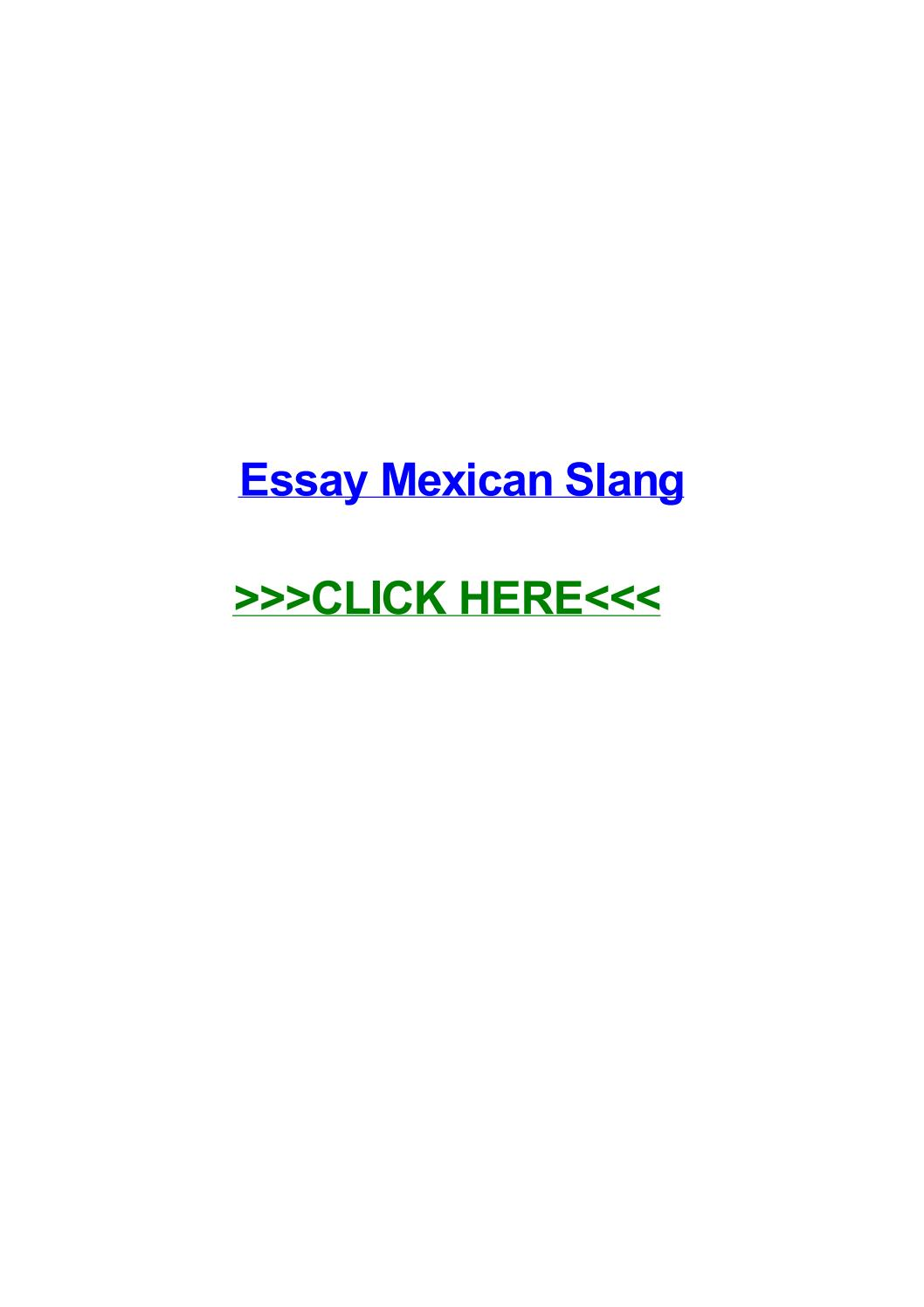 018 Essay Example Slang Page 1 Amazing Railroad Term Full