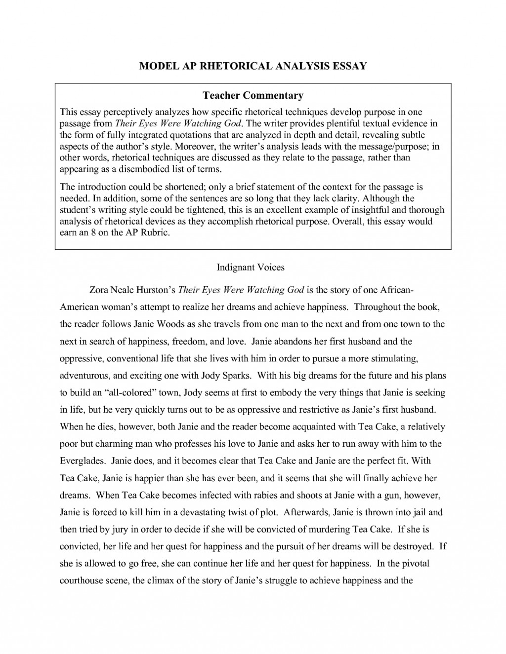 018 Essay Example Visual Examples Top Argument Analysis Reflection Arts Large