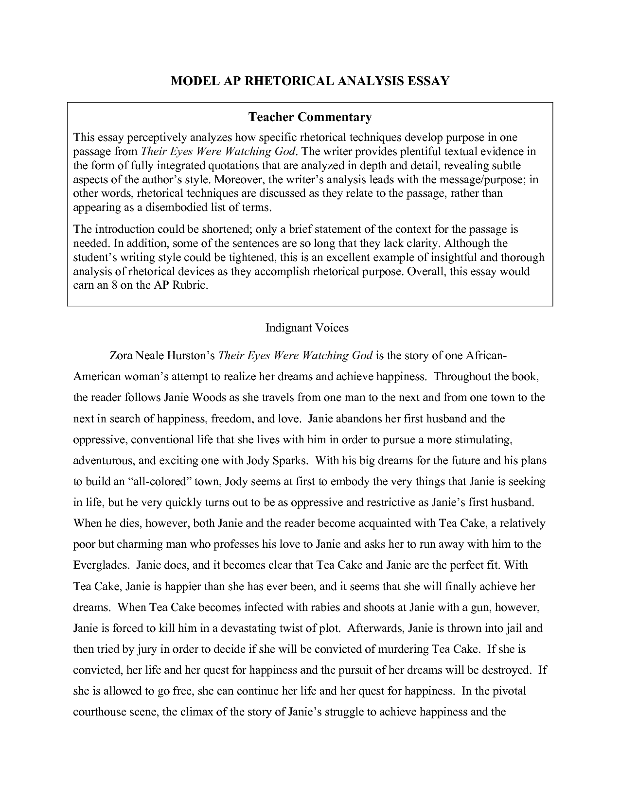 018 Essay Example Visual Examples Top Argument Analysis Reflection Arts Full