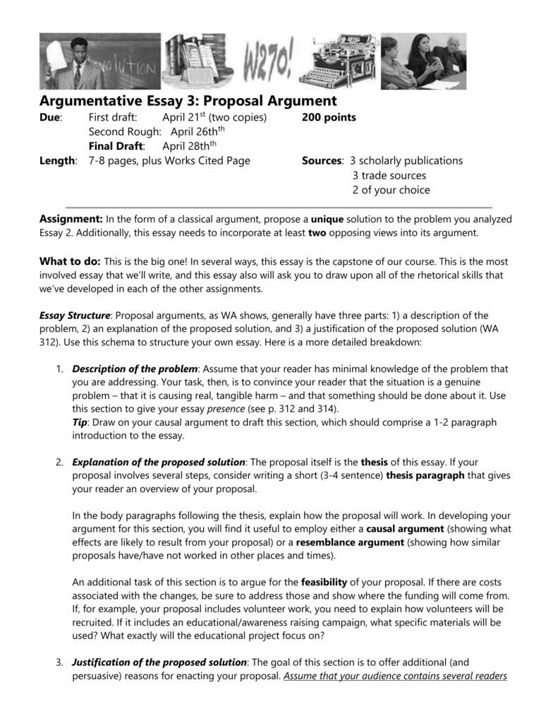 018 Essay Example What Is Proposal Argument 007125247 1 Excellent A Full