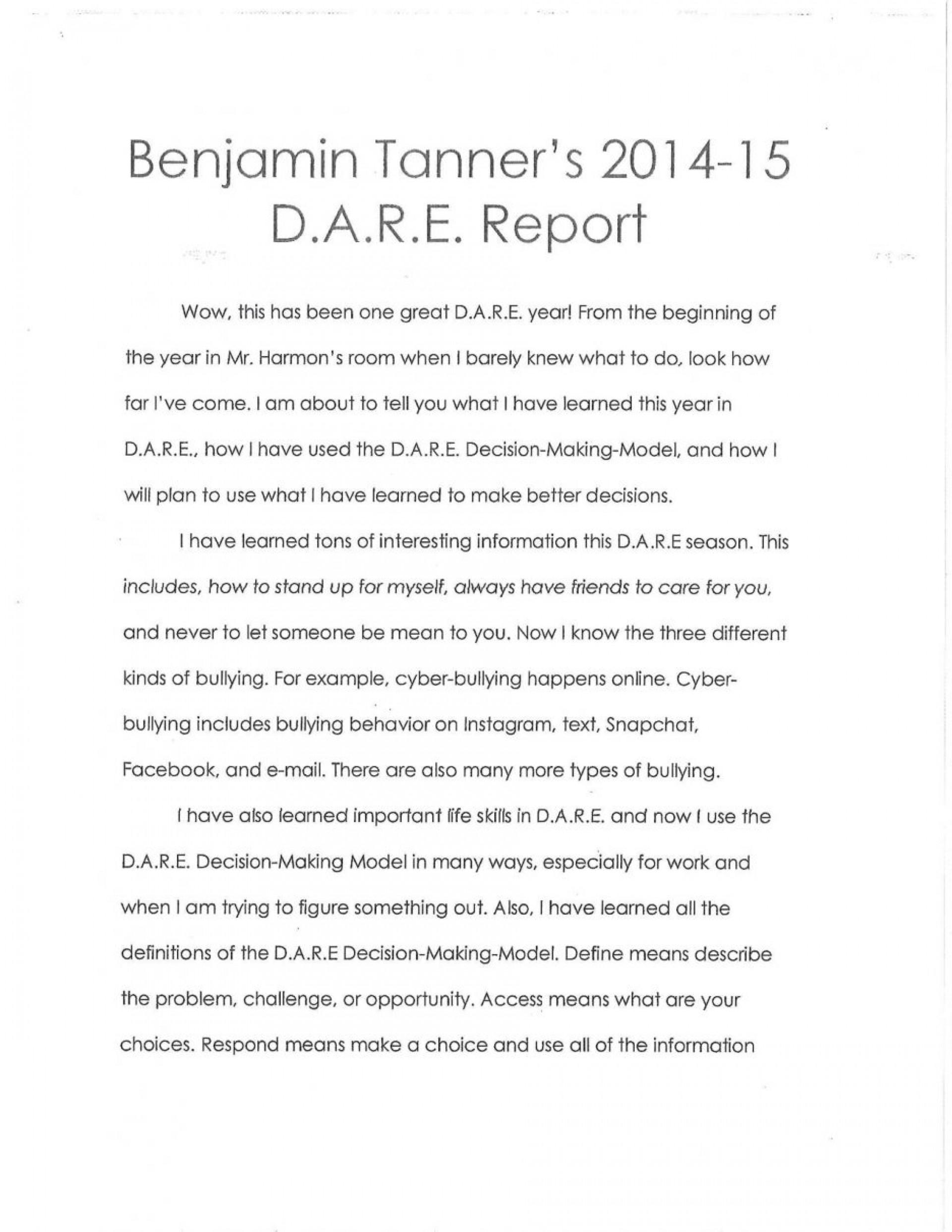 018 Essay Example Winning Dare Essays Brennen Elem Examples Winner Of 5th Grade For Staggering 2018 2016 1920