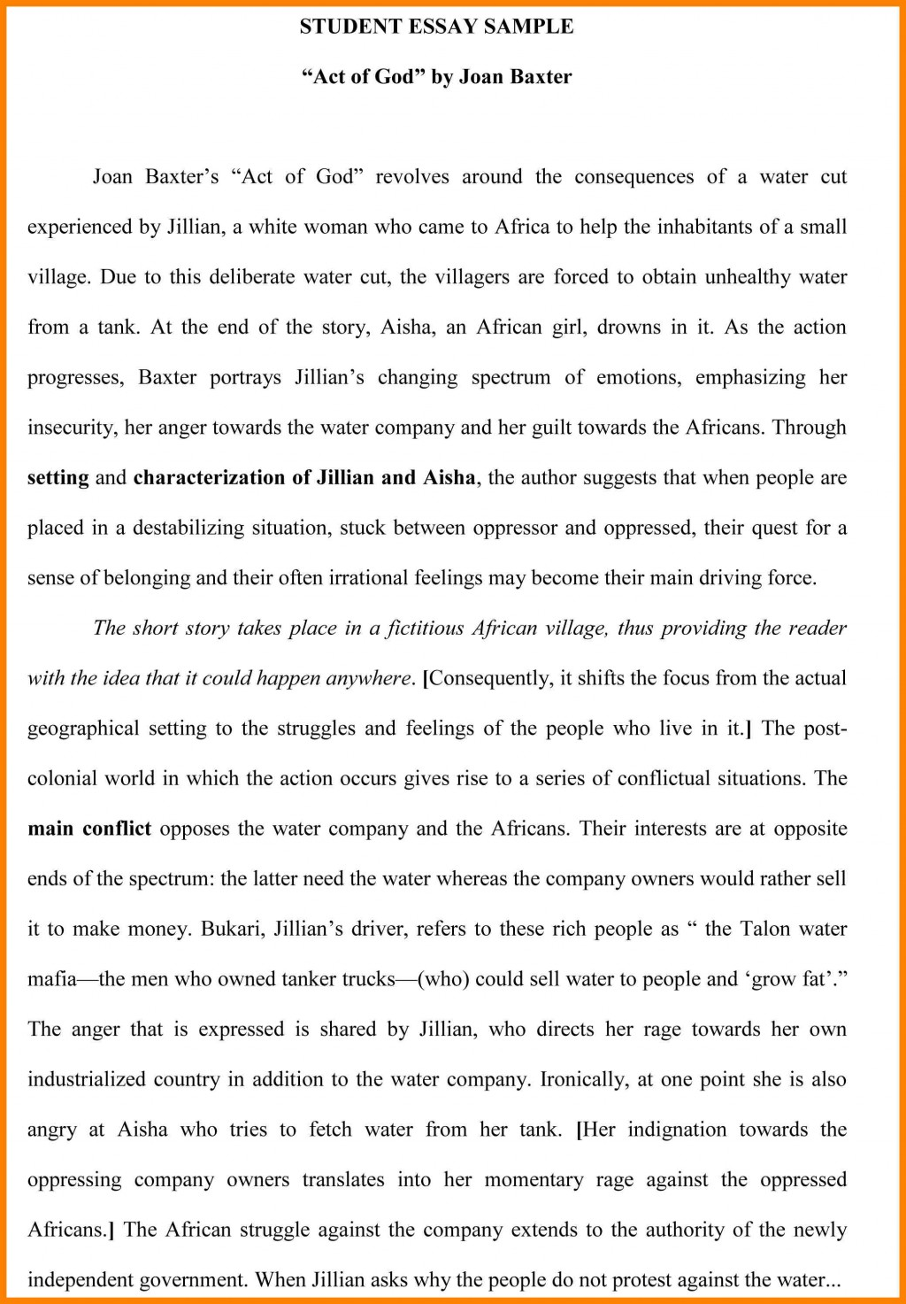 018 Examples Of Process Essays Pdf How To Write Good Student Better Download Descriptive Great Law Steve Foster Lauren Starkey Essay Example Montaigne Astounding Summary On Experience Repentance Cannibals Large