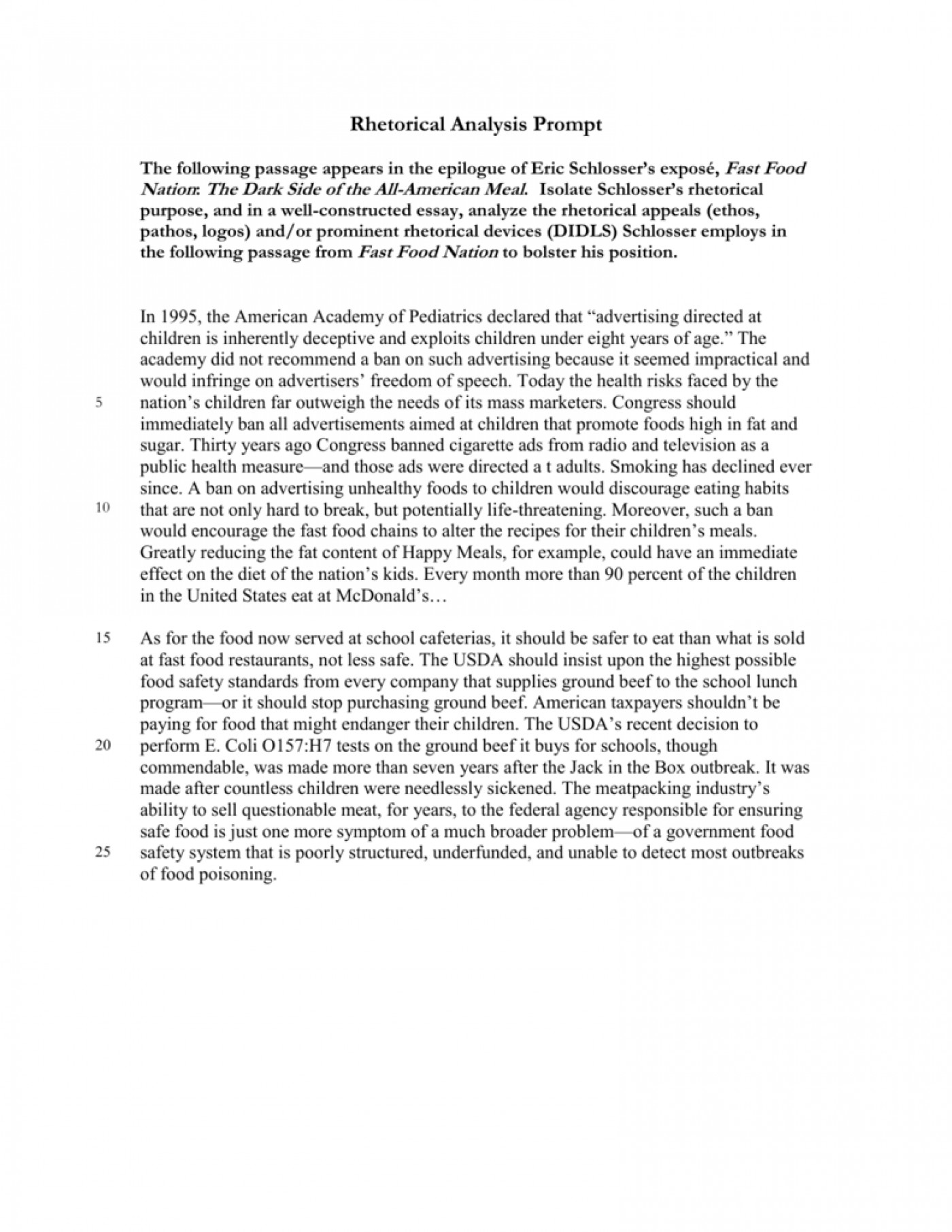 018 Fast Food Essay Example 008033612 1 Stunning Nation Outline Titles Introduction 1400