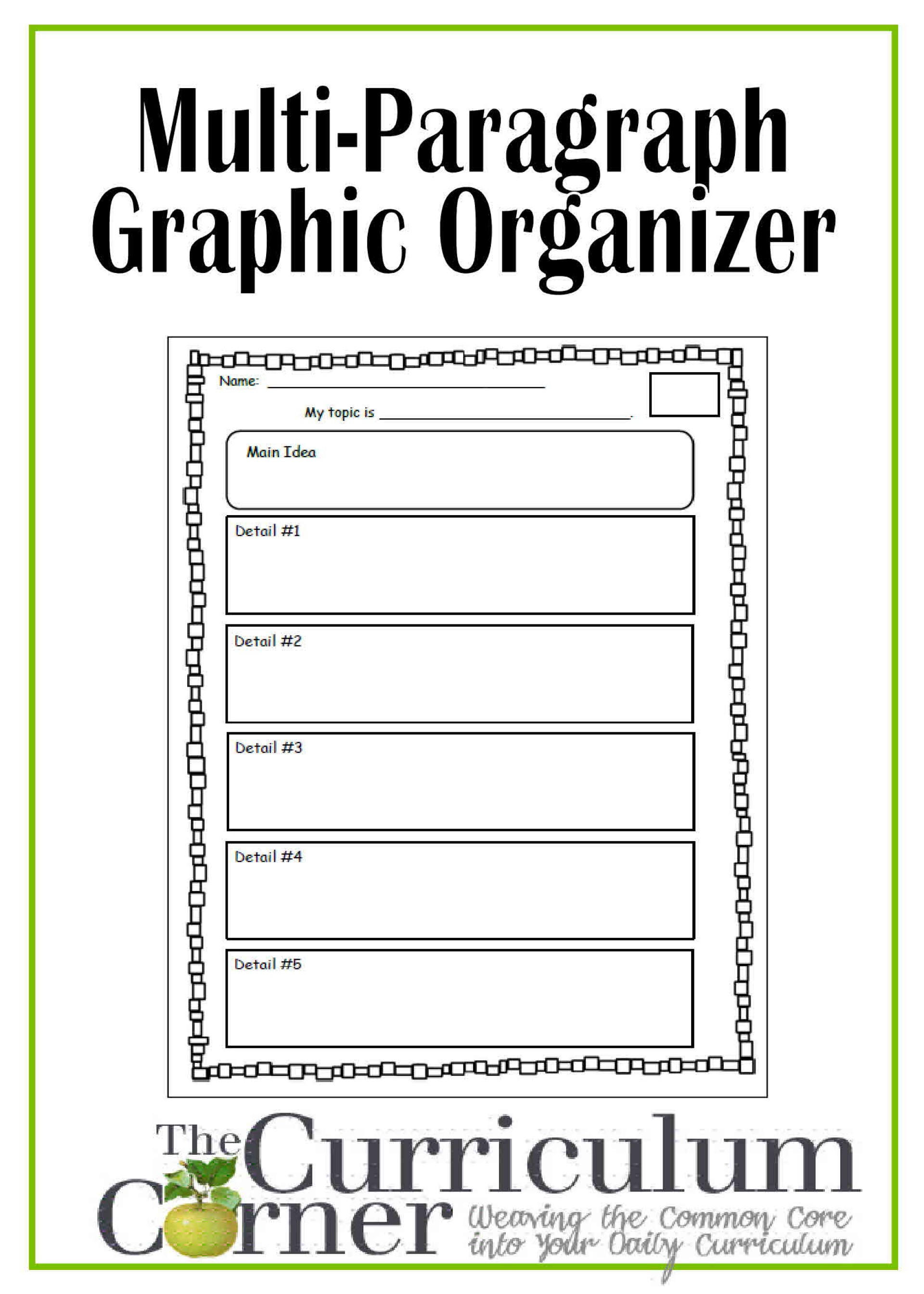 018 Graphic Organizer For Multi Paragraph Research Papers The Multipara Best Organizers Writing Essays Informative Argumentative Literary Persuasive Free Descriptive Essay College Fascinating Informational Pdf 6th Grade 1920
