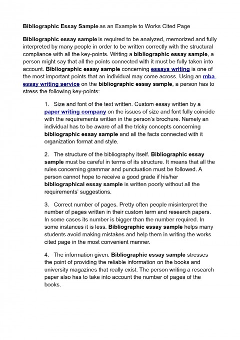 018 How To Cite An Essay Example Sample Persuasive With Works Cited Of Mla L Archaicawful Unpublished Paper In Apa Style Anthology 480