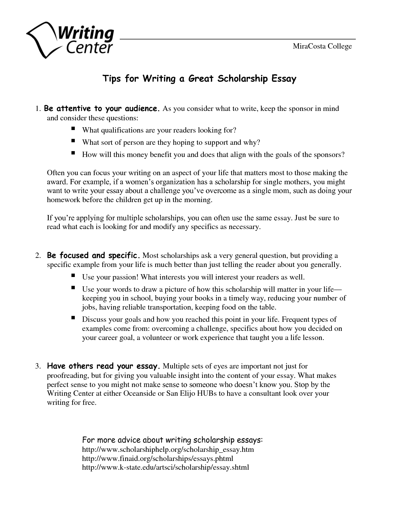 018 How To Start Scholarship Essay Example Striking A About Yourself Examples Off Full