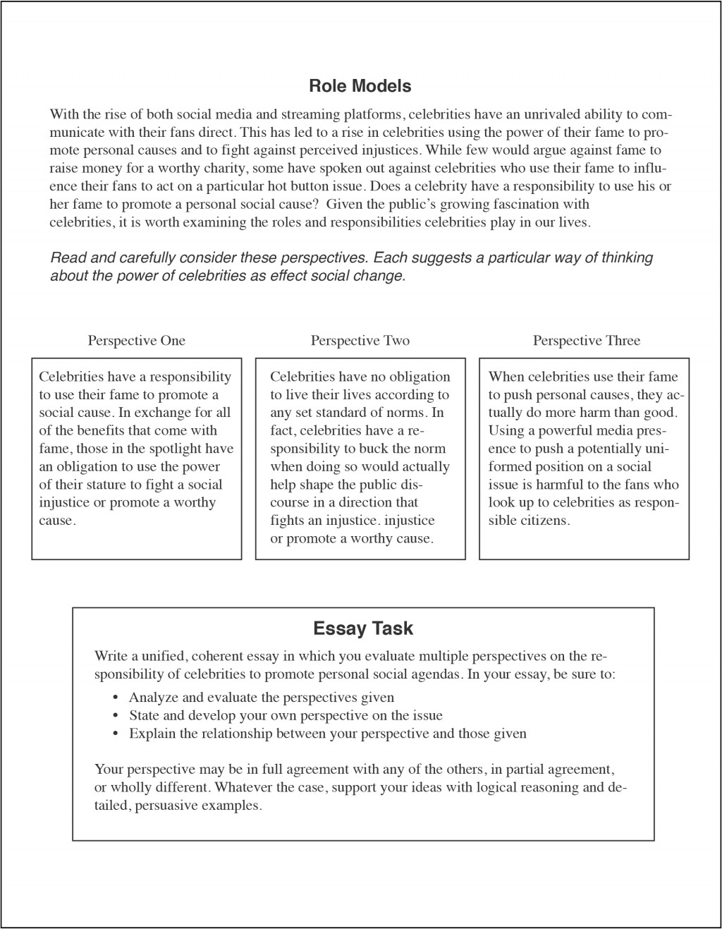 018 How To Write An Act Essay Example Dreaded Examples Template Large