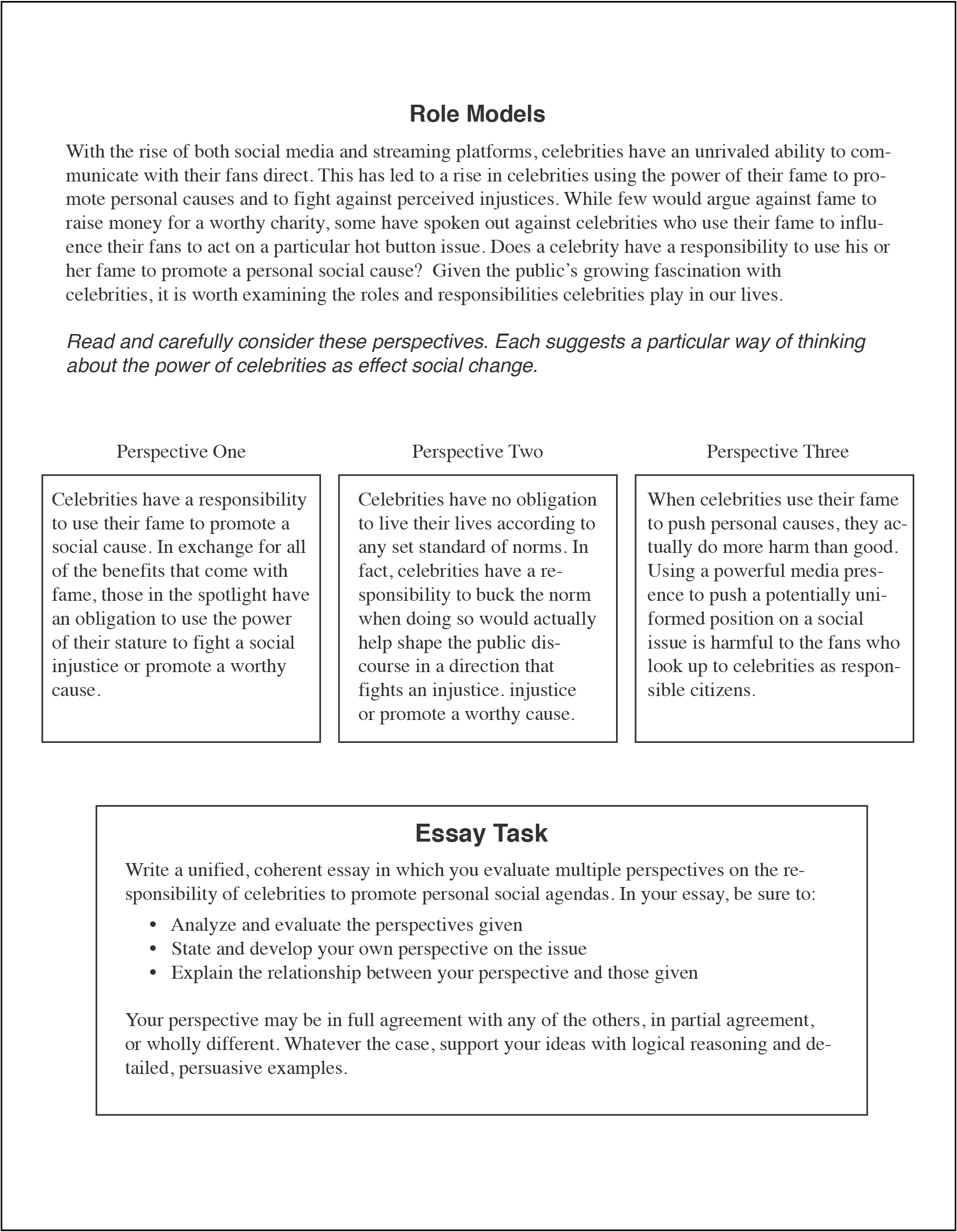 018 How To Write An Act Essay Example Dreaded 2018 Template Full