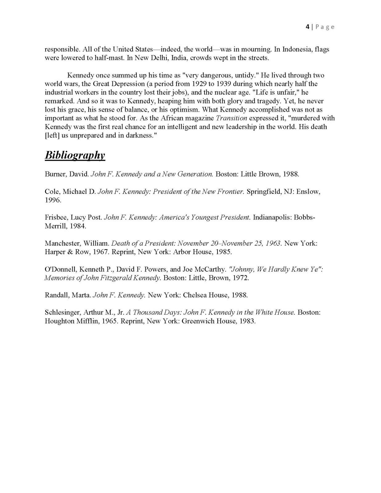 018 Jfkmlashortformbiographyreportexample Page 4 Diversity Essay Sample Fascinating Law School Full