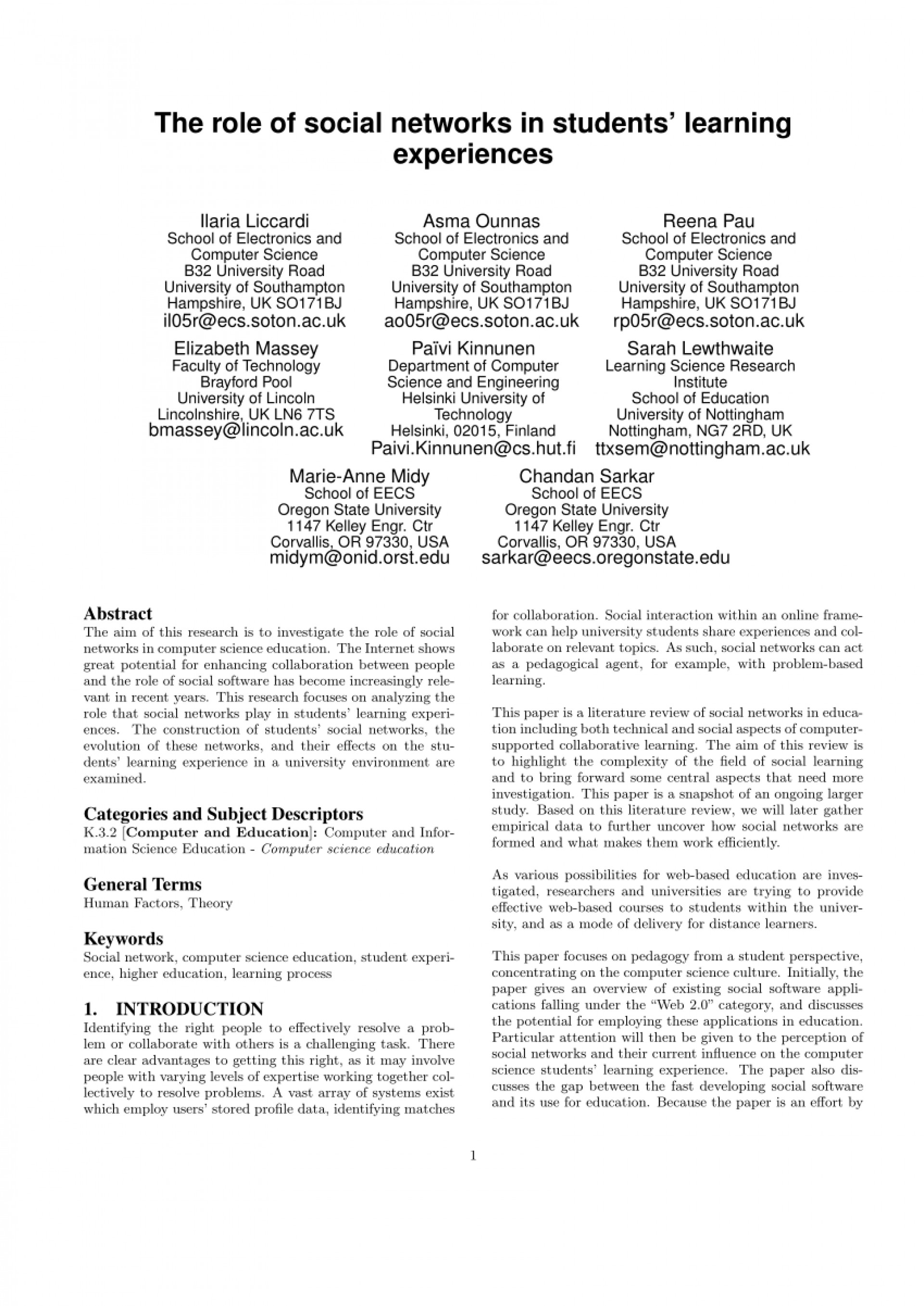 018 Largepreview Essay Example Pros And Cons Of Social Media Fantastic Pdf 1920
