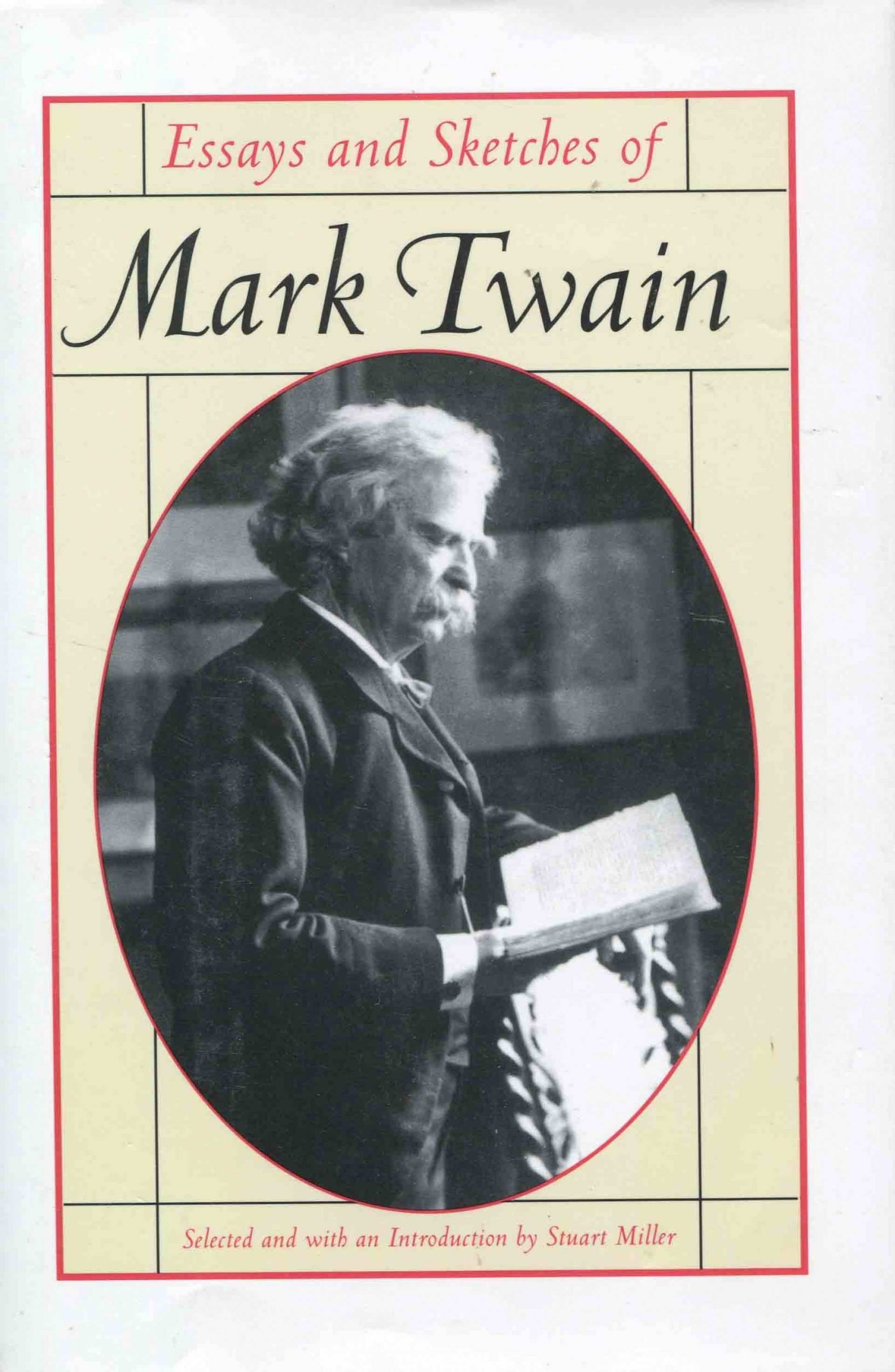 018 Mark Twain Essays 71ujezudo4l Essay Surprising Collected Tales Sketches Speeches And On Writing Post Civil War 1920