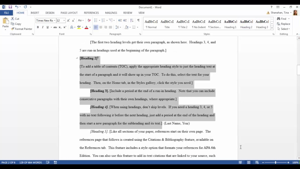 018 Maxresdefault Apa Essay Template Best Research Outline Word Paper Full