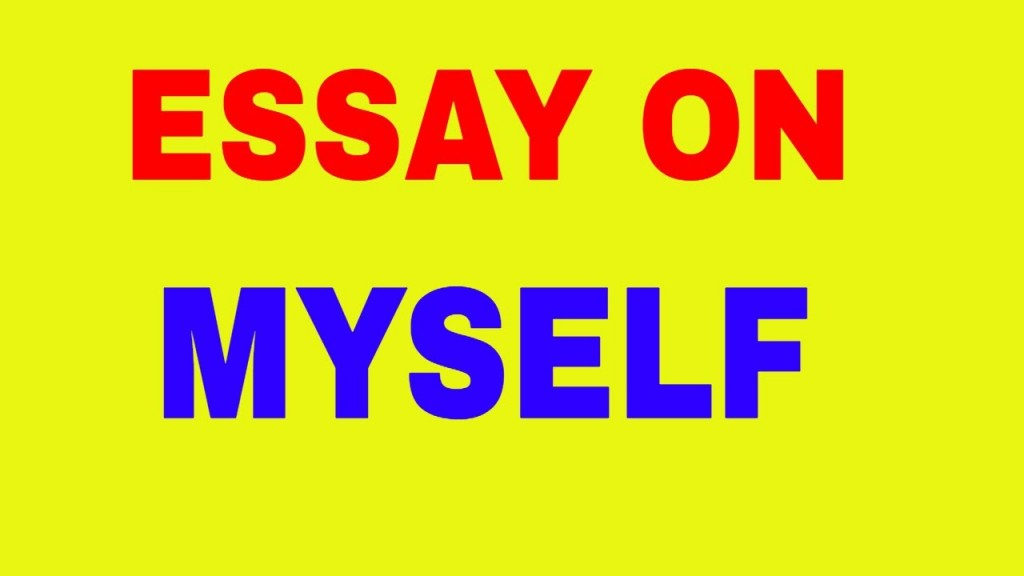018 Maxresdefault Essay About Myself Fearsome For College Sample Title Large