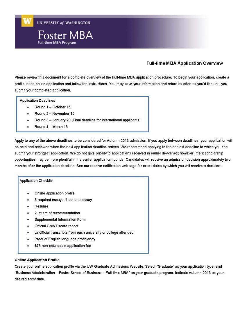 018 Mba Washington University Essay Example Uw Incredible Application Madison Examples Transfer Full