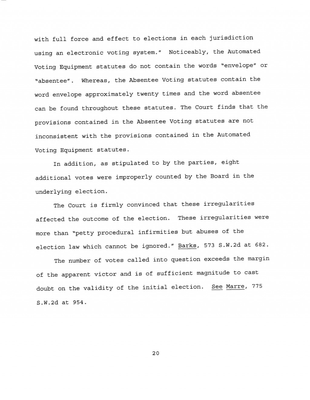 018 Memorandumorderandfinaljudgment Final Page 20quality85stripallw2000 Essay Example Why Is It Important To Vote Top Contest Large