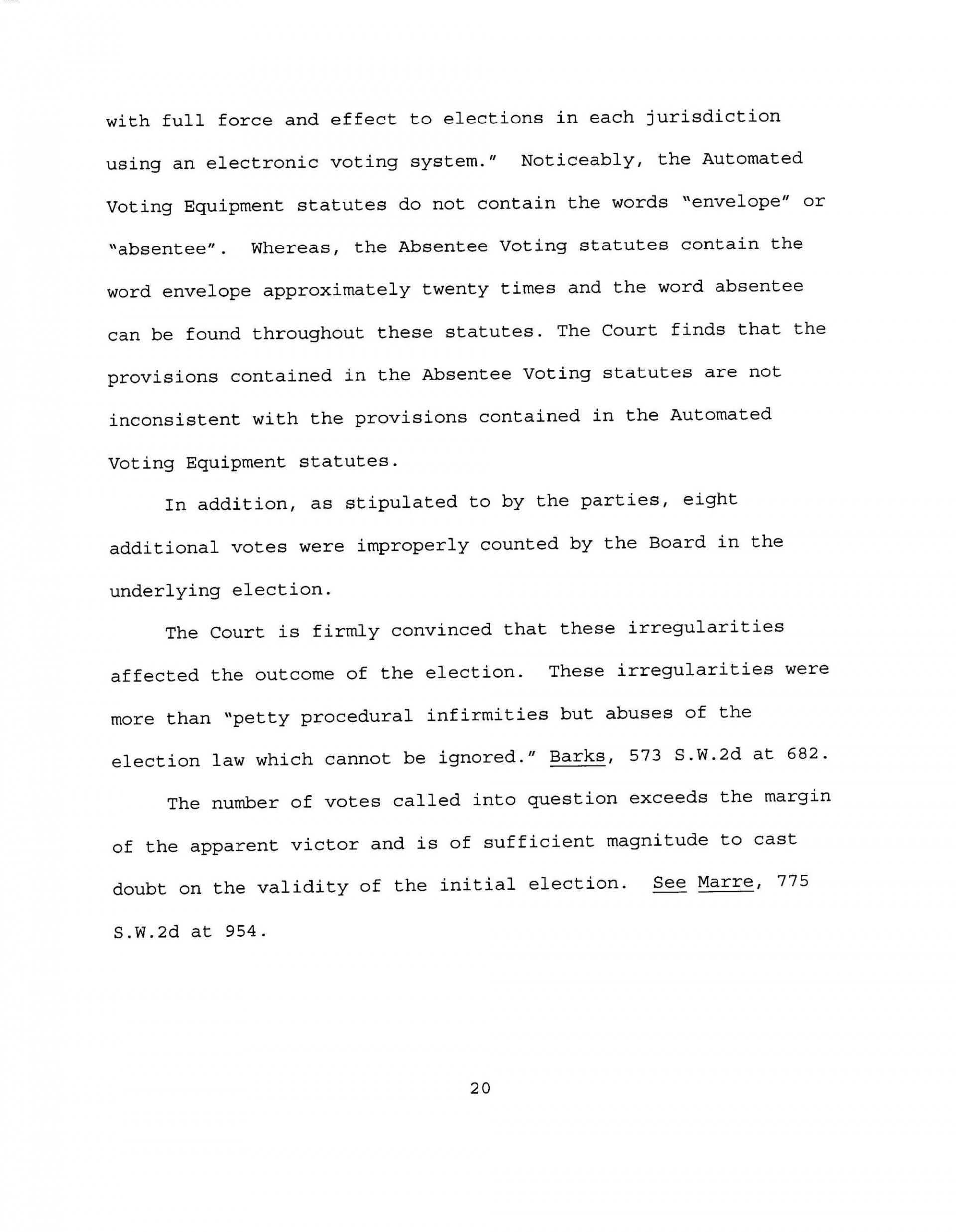 018 Memorandumorderandfinaljudgment Final Page 20quality85stripallw2000 Essay Example Why Is It Important To Vote Top Contest 1920