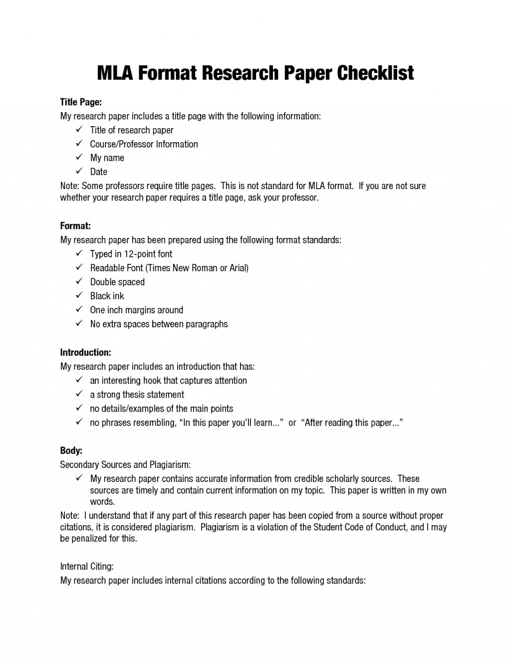 018 Mla Format Narrative Essay Example Staggering Large